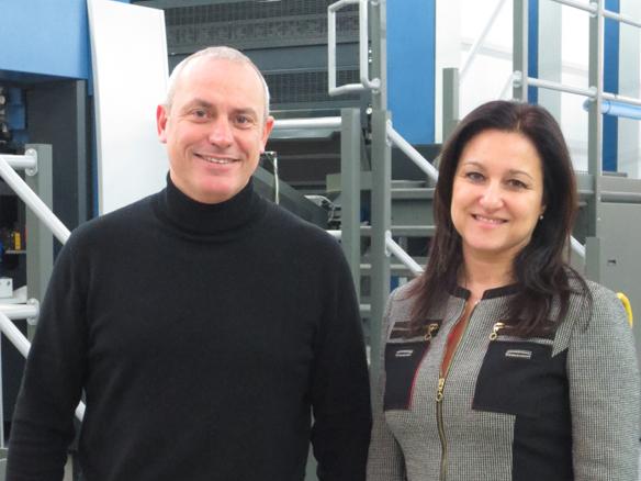 Riccardo Majrani e Cristina Bertoldo