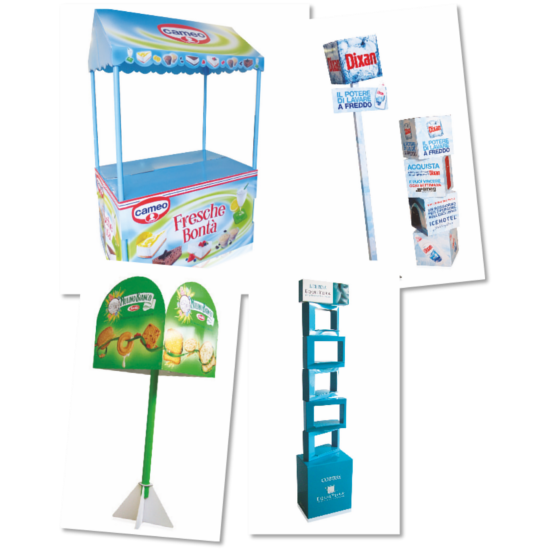 cardboard promotional displays
