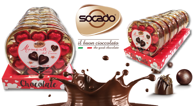 Per San Valentino Socado sceglie Lic Packaging