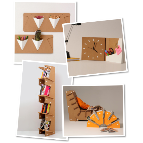 Cardboard Furnitures