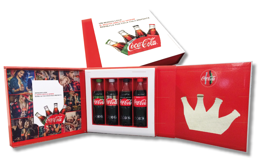 Presentation Couvette designed, developed and manufactured by Lic Packaging