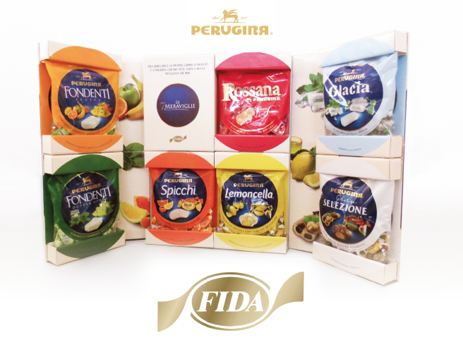 Fida chooses Lic Packaging for the new collection bags by Perugina