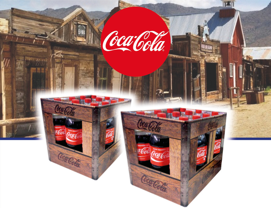 Coca Cola chooses Lic Packaging to produce the Vintage Boxes