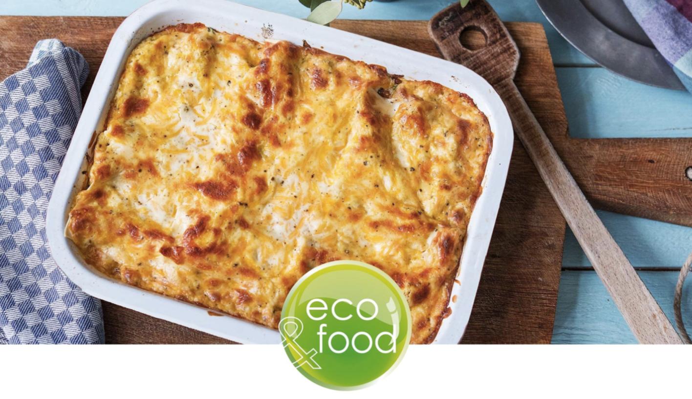 Packaging alimentare ecologico per Piatti pronti surgelati